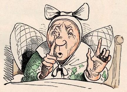 Witwe Bolte in der Kammer