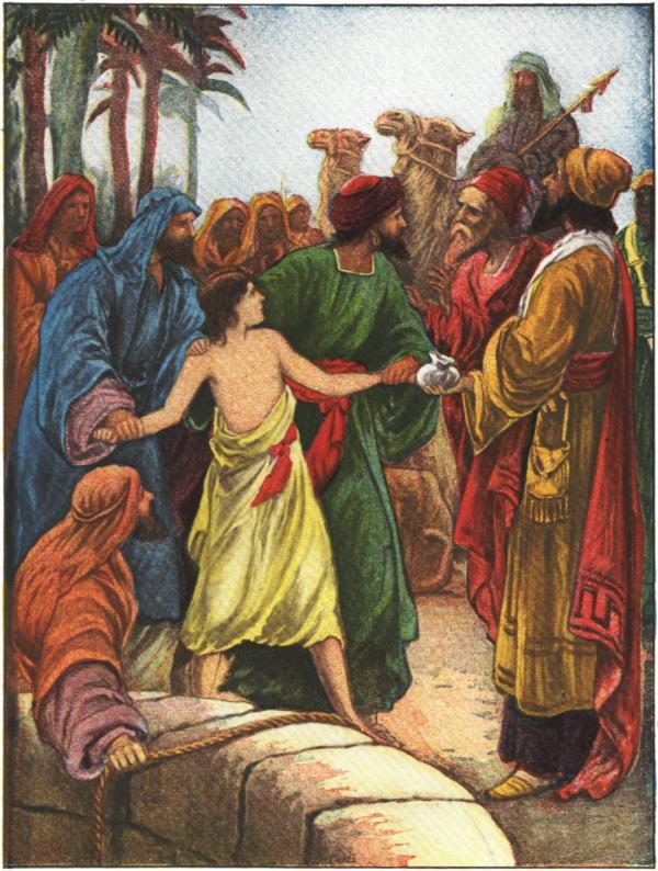 Joseph Sold to Egypt Joseph Sold Into Captivity