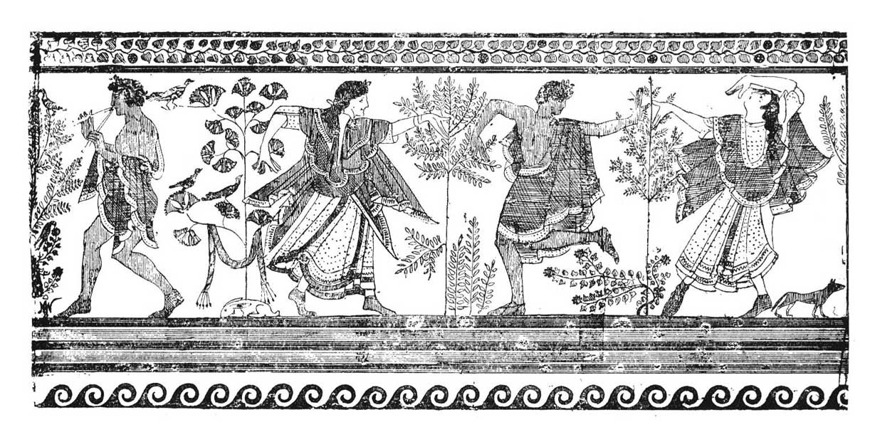 The Dance: Historic Illustrations of Dancing from 3300 B C
