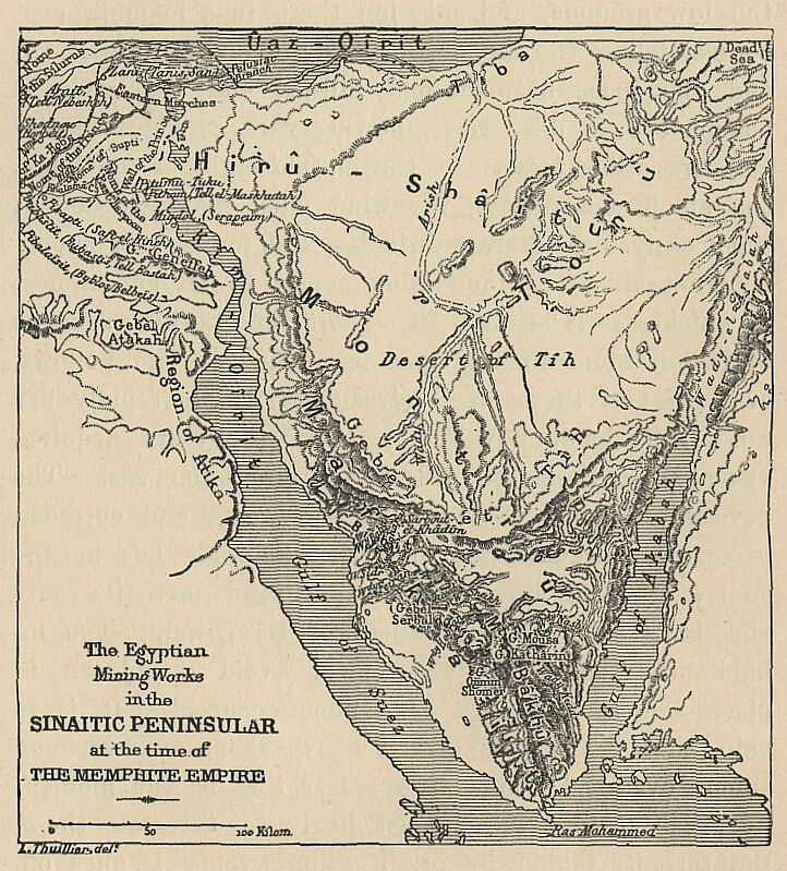 History Of Egypt By Maspero Volume - Map of egypt before the sands