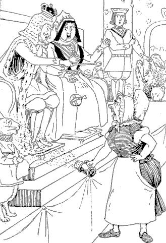 Ilustrajxo: LA KUIRISTINO RIFUZAS ATESTI.