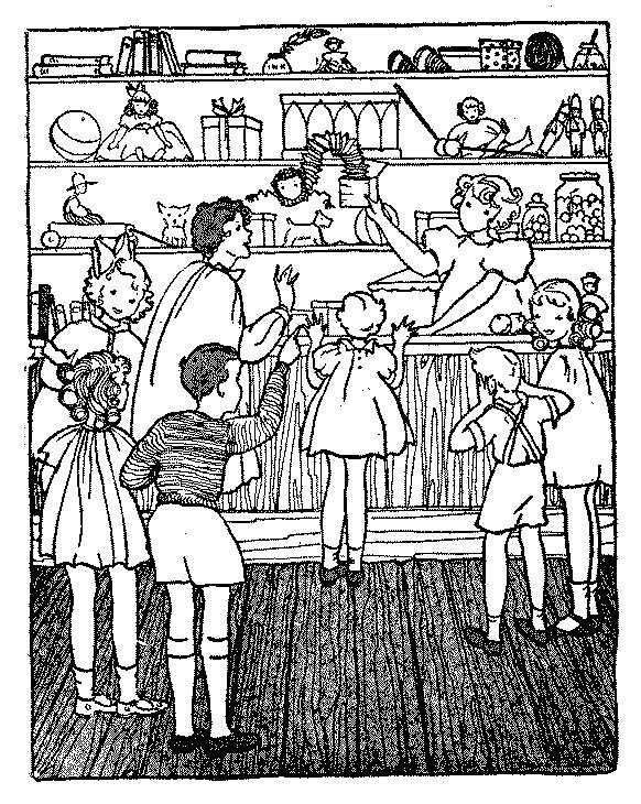 The project gutenberg ebook of maidas little shop by inez hayes irwin illustration maidas little shop fandeluxe Choice Image