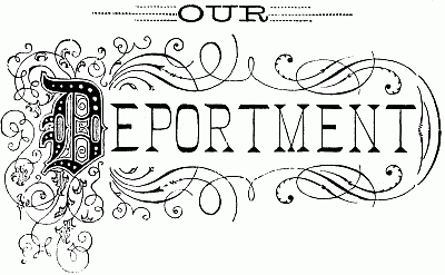 The project gutenberg ebook of our deportment by john h young our deportment fandeluxe Image collections