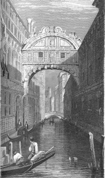 BRIDGE OF SIGHS,--VENICE.