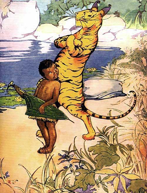 Little Black Sambo met another Tiger.
