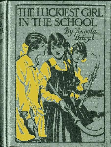 The project gutenberg ebook of the luckiest girl in the school by book cover fandeluxe Image collections