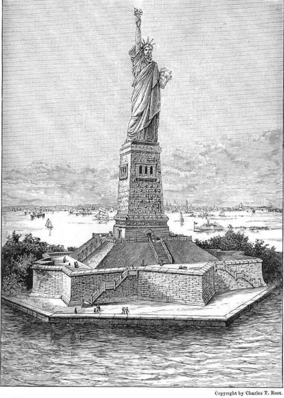 The project gutenberg ebook of the beginners american history by a statue in the harbor of new york city given to the american people by the people of france fandeluxe Choice Image