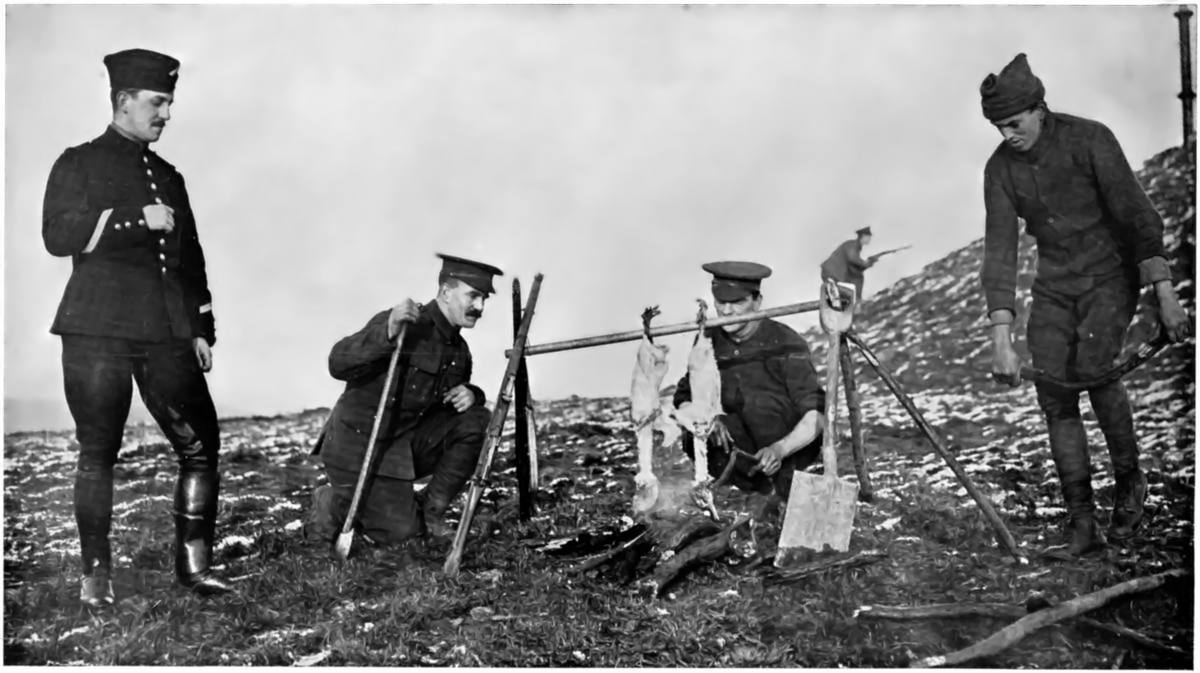 Pictures from the Christmas Truce of 1914–The Stupidity of Going to War Was Recognized and Peace ...