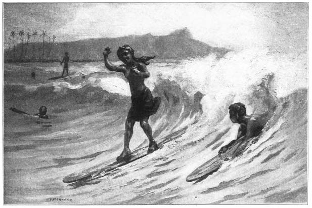 The Favorite Sport of Surf-Riding.