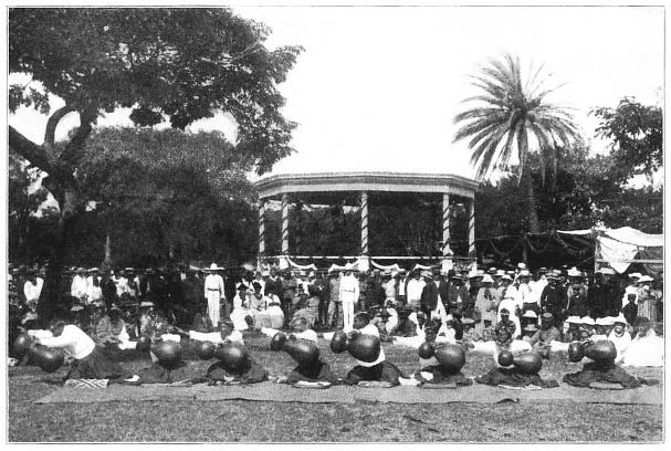 The Ceremony of the Hula.