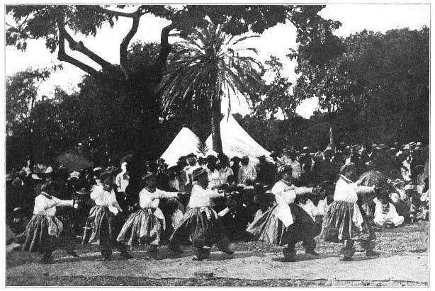 The Hula Dance.