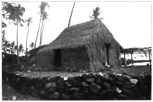 A Grass House of the Olden Time.