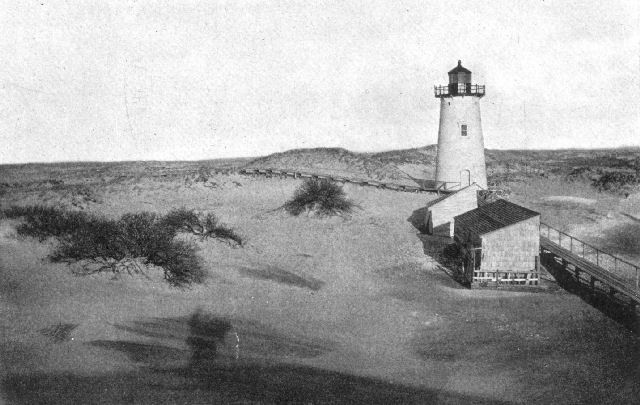 The project gutenberg ebook of outlines of the earths history by dunes at ipswich light massachusetts note the effect of bushes in arresting the movement fandeluxe Image collections