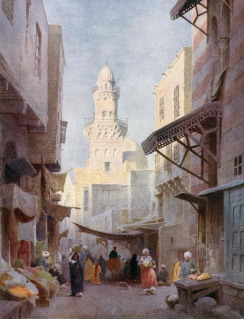 A STREET IN CAIRO.