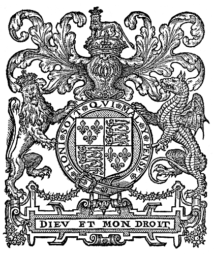 Dieu et mon droit. A.2. 1. A DECLARATION OF THE CAVSES, WHICH MOVED