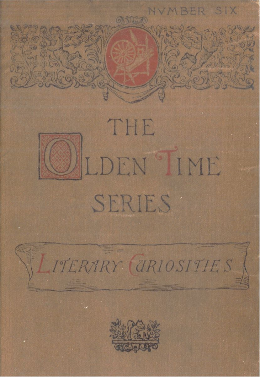 The Project Gutenberg eBook of The Olden Time Series, Vol. 6, by ...