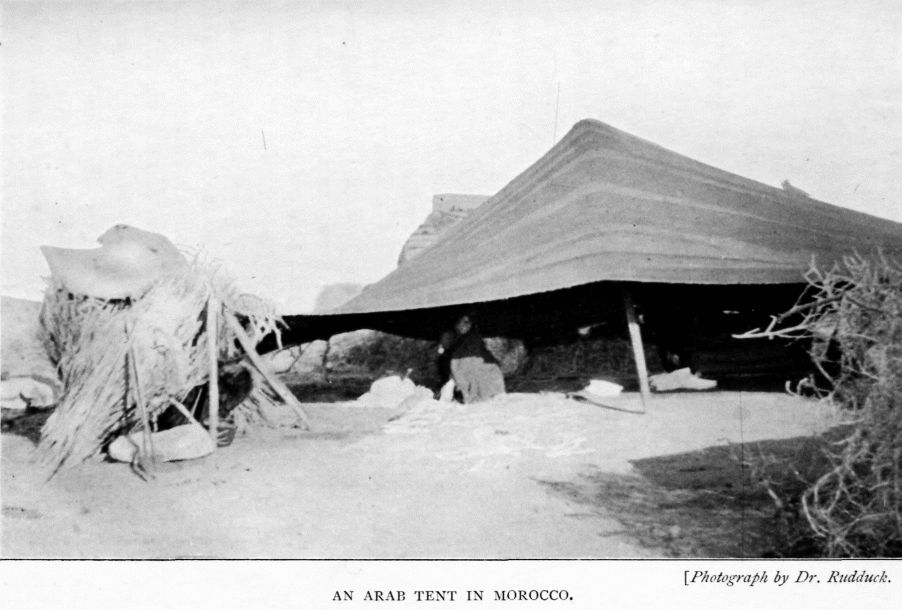 AN ARAB TENT IN MOROCCO. & The Project Gutenberg eBook of Life in Morocco and Glimpses Beyond ...