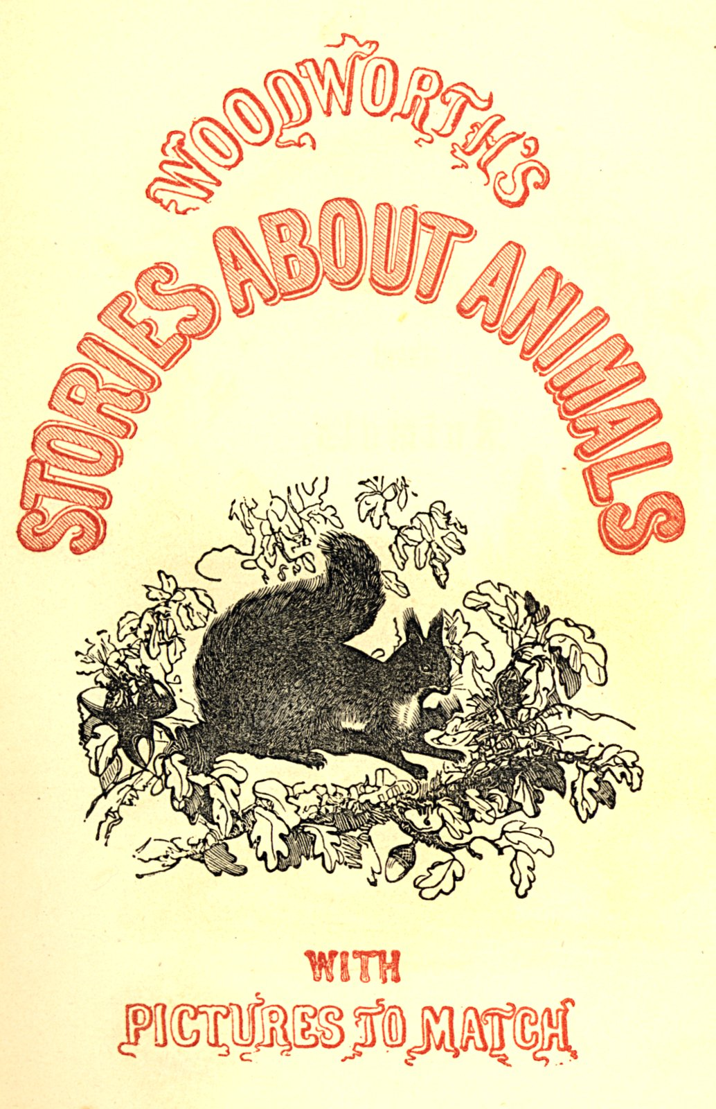 The project gutenberg ebook of stories about animals with pictures title page 2 fandeluxe Images