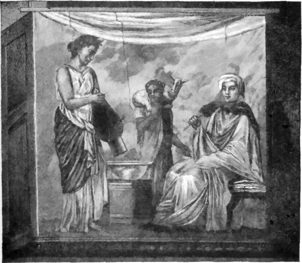 The project gutenberg ebook of a text book of the history of fig 15ritual scene palatine wall painting from woltmann and fandeluxe Choice Image