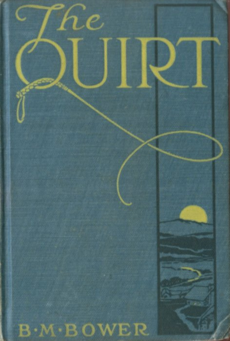The project gutenberg ebook of the quirt by b m bower book cover fandeluxe Gallery