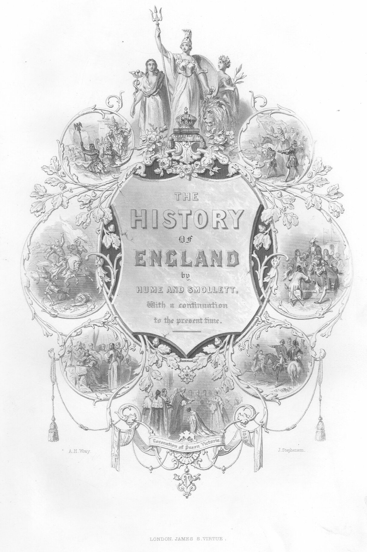 the history of england vol ia by david hume enlarge