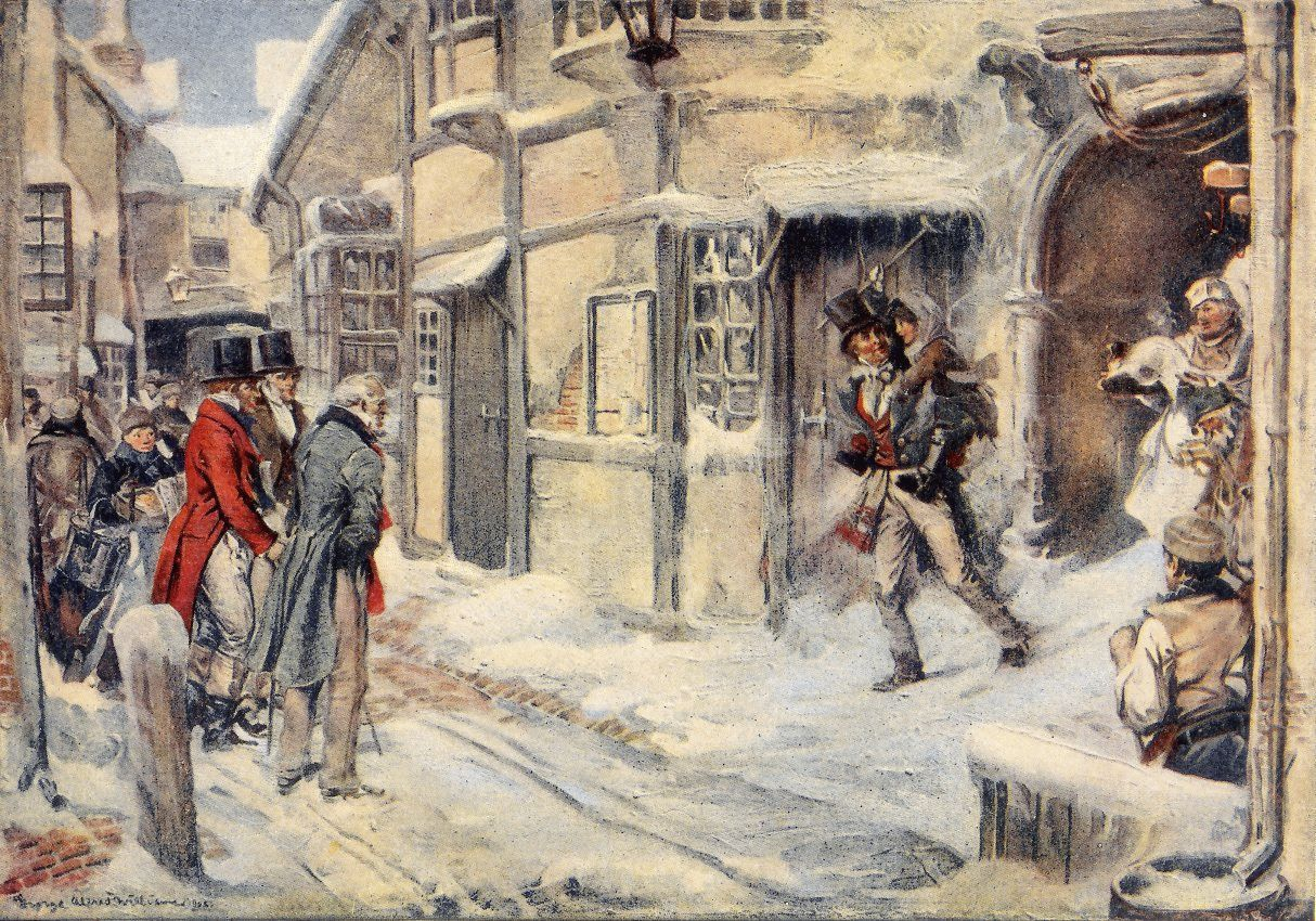 The project gutenberg ebook of a christmas carol by charles dickens he had been tims blood horse all the way from church fandeluxe Gallery