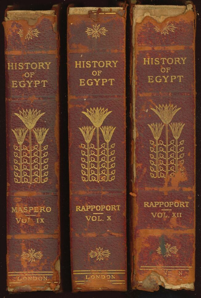 History Of Egypt By Maspero Volume 1 Part A