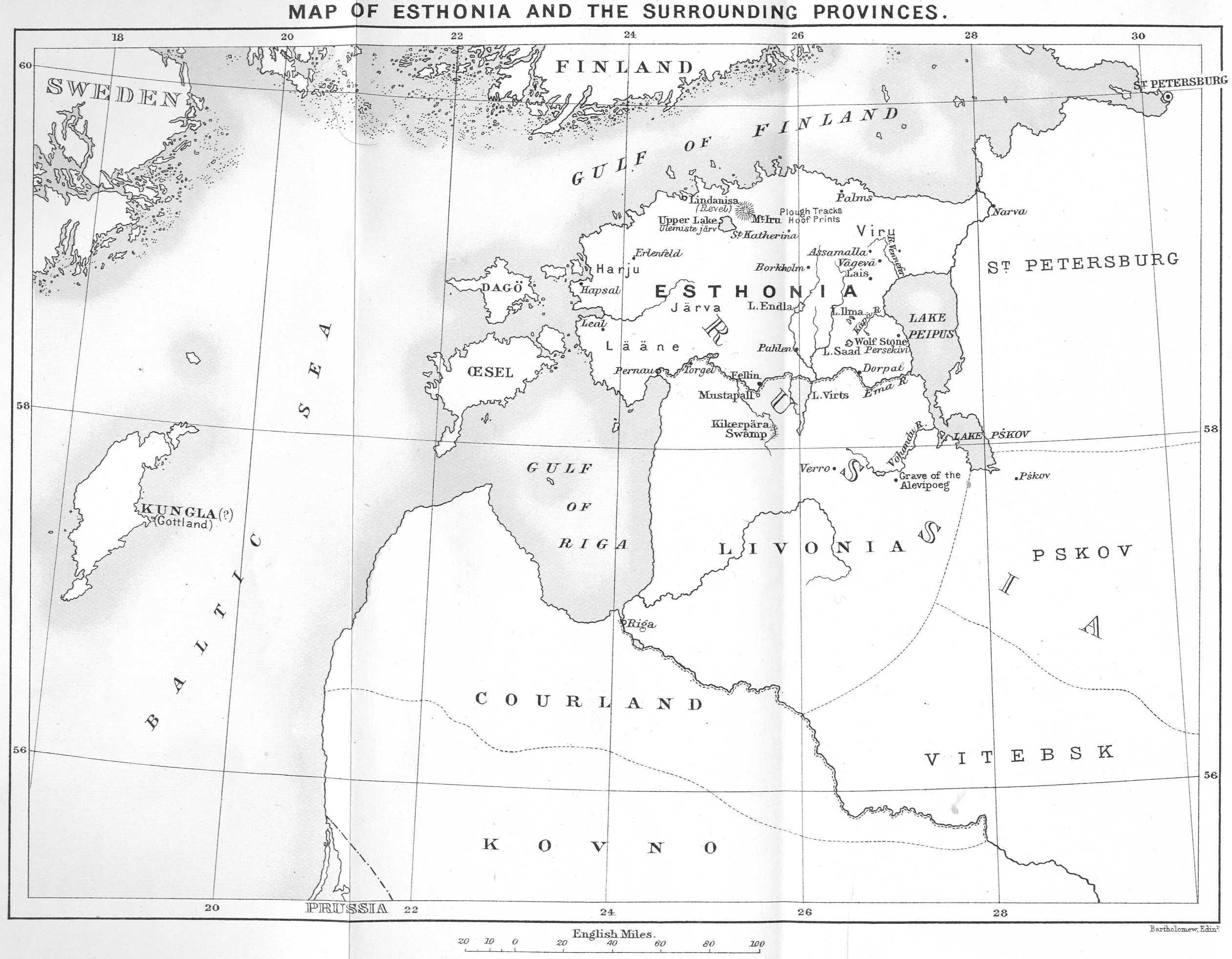 The project gutenberg ebook of the hero of esthonia and other with a map of esthonia fandeluxe Gallery