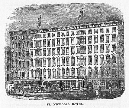 ST. NICHOLAS HOTEL.