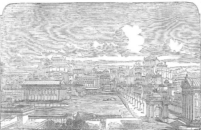 The project gutenberg ebook of a smaller history of rome by william the roman forum restored fandeluxe Images