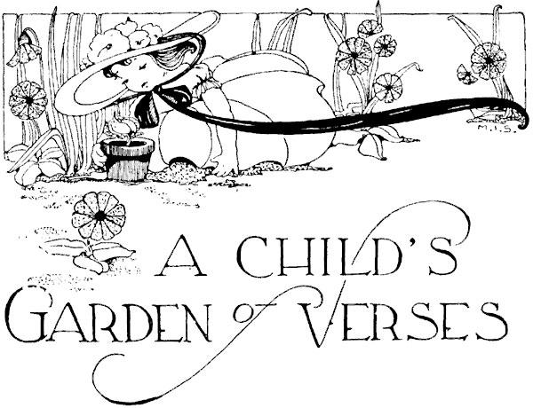 a childs garden of verses - A Childs Garden Of Verses
