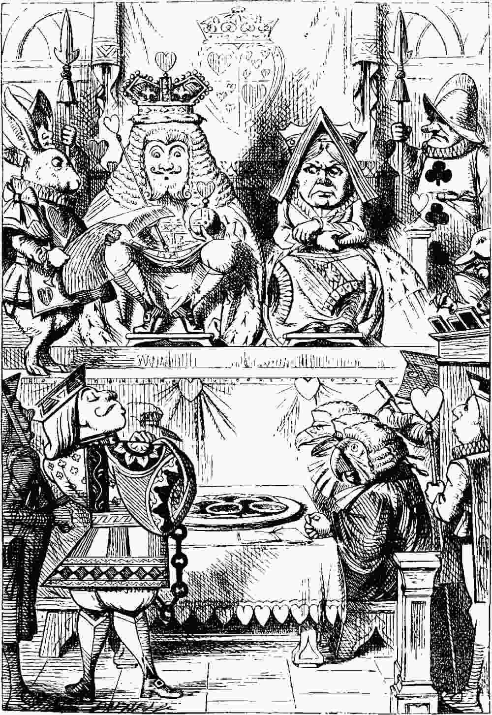 The Project Gutenberg eBook of Alice\'s Abenteur im Wunderland, Lewis ...