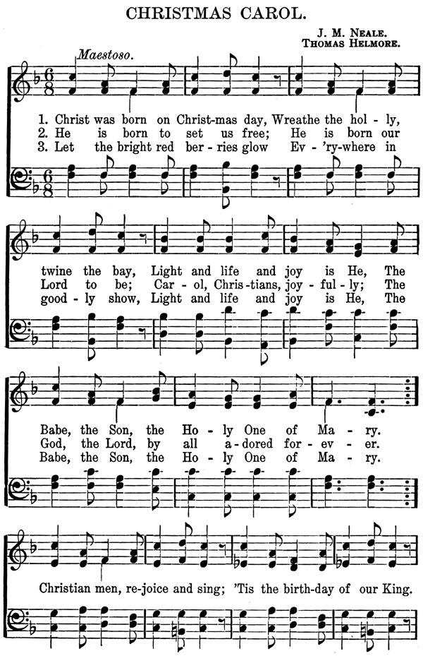 christmas carol - Im Dreaming Of A White Christmas Lyrics