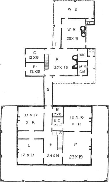 farm house 6, ground plan