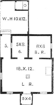 cottage 1, plan
