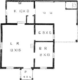 cottage 2, plan