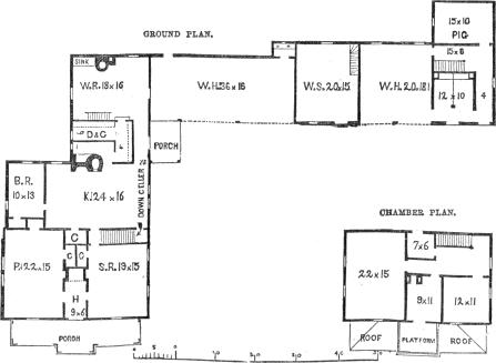 farm house 2, plans