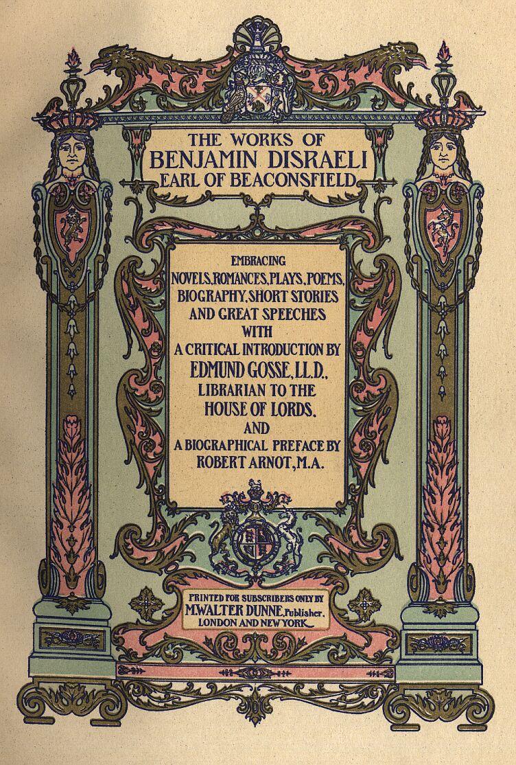Tancred By Benjamin Disraeli Minimal Root Ornamen Tunic Ornament Navy Combo Xl Frontplate