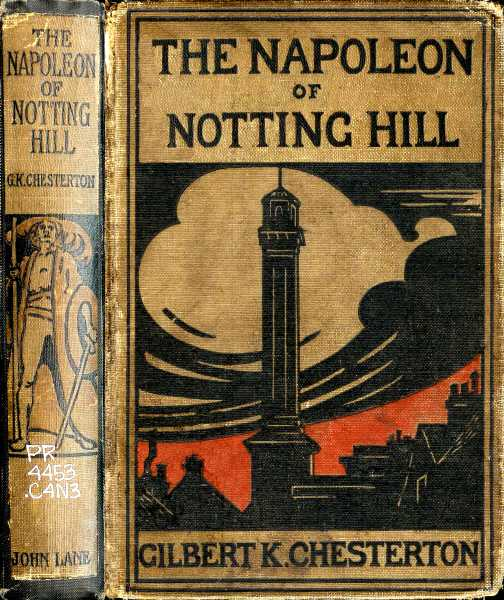 The project gutenberg ebook of the napoleon of notting hill by cover fandeluxe Image collections