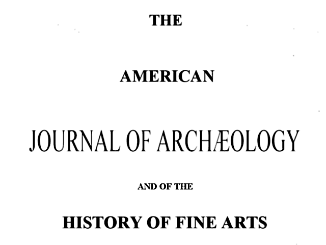 The project gutenberg ebook of the american journal of archlogy volume viii fandeluxe Image collections