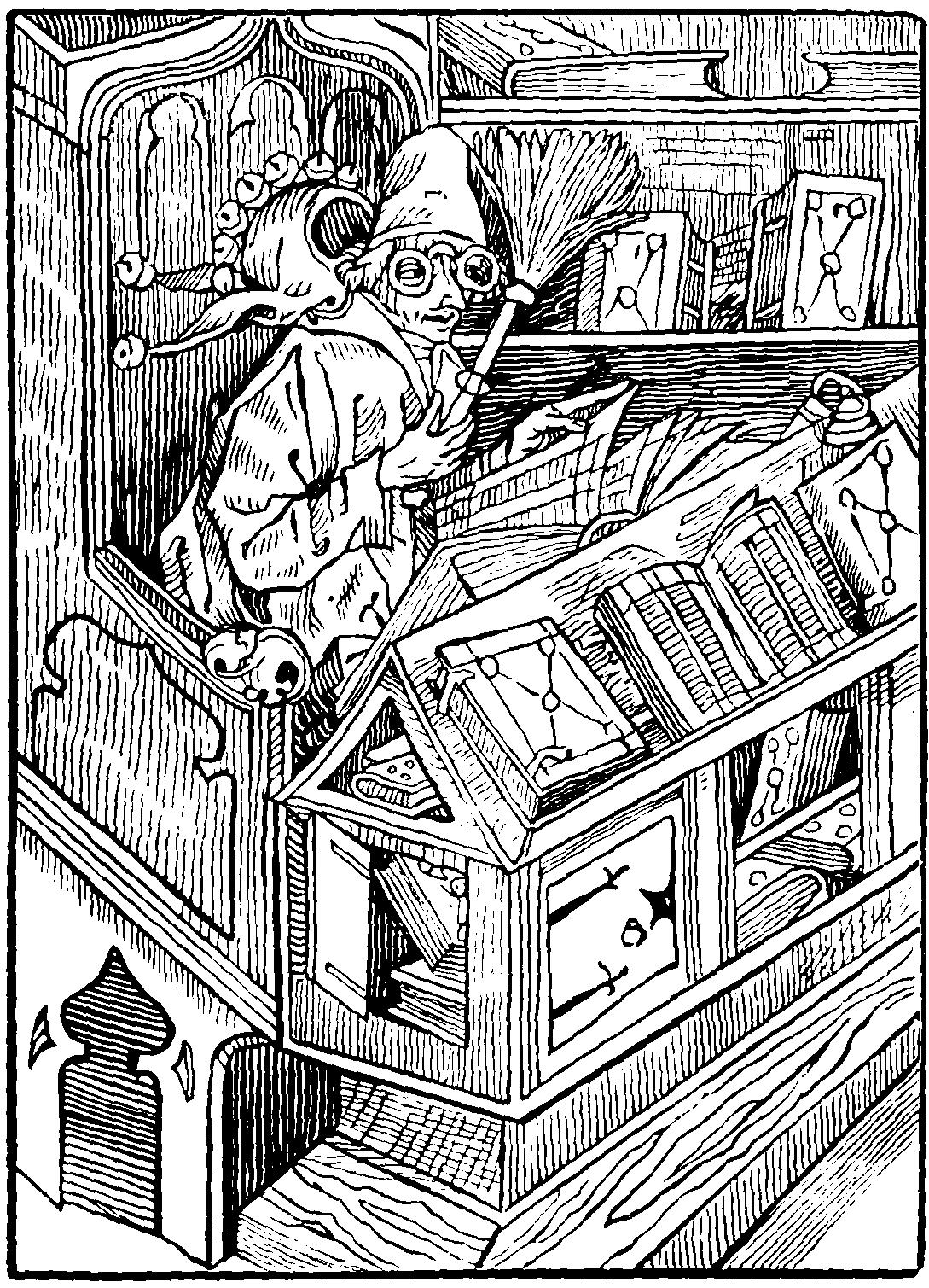 Sebastian Brant. Poem Ship of Fools