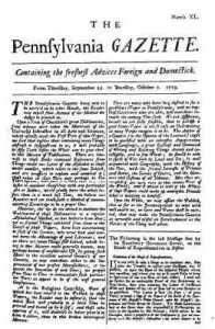 The Pennsylvania GAZETTE Page 1
