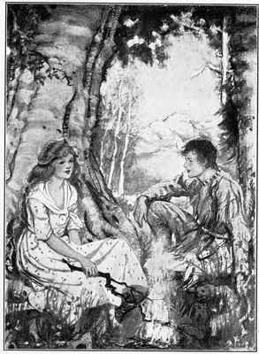The project gutenberg ebook of a little maid of old maine by alice she added wood to the fire fandeluxe Images