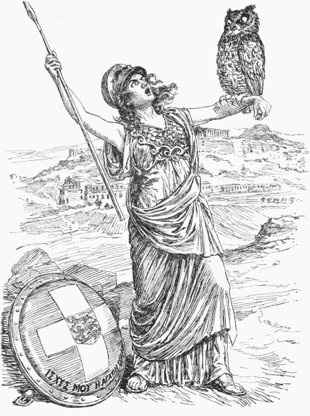 ATHENA To Her Owl SAY TINO