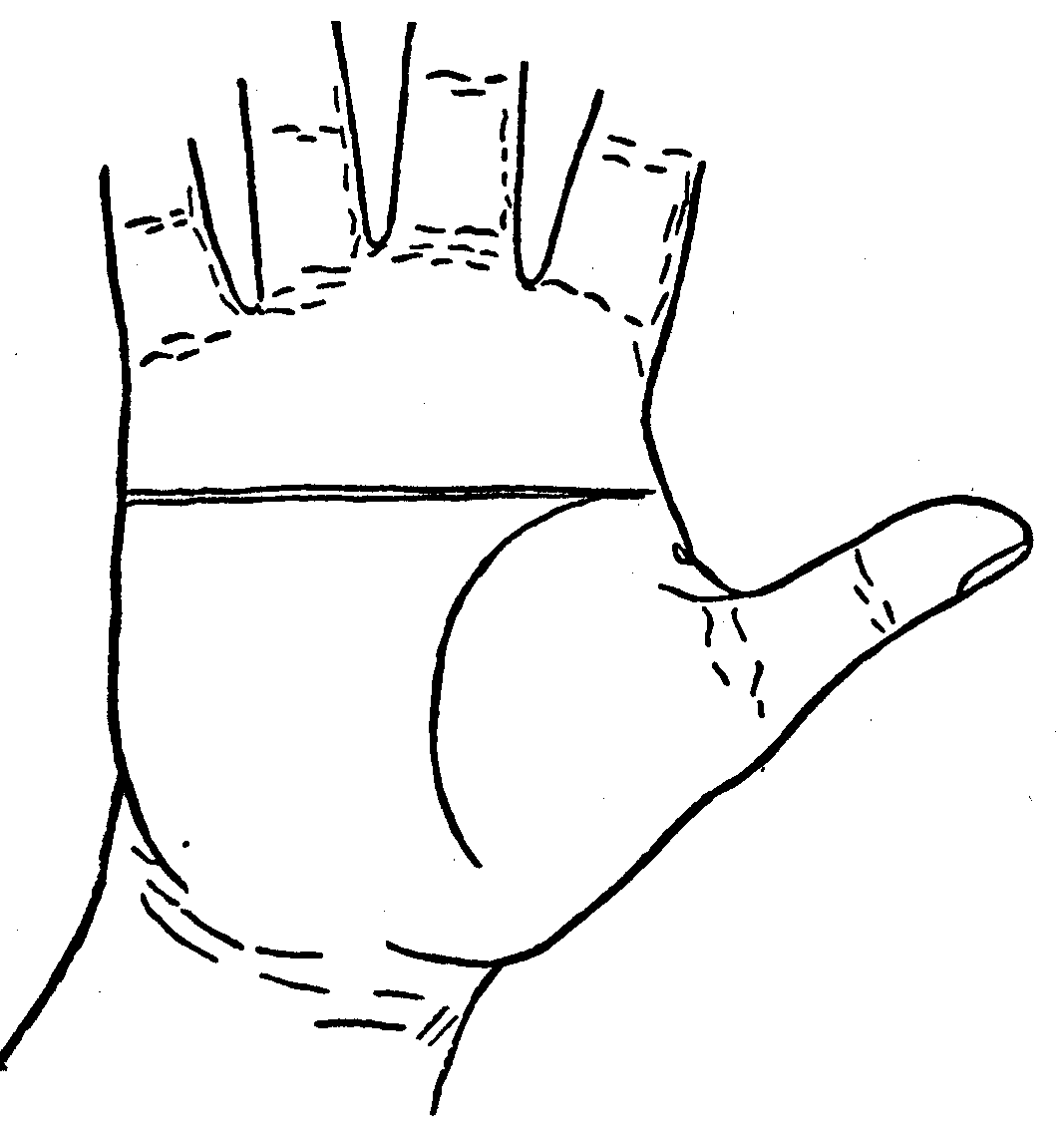 The project gutenberg ebook of palmistry for all by cheiro plate vi the line of head and the line of heart running together m4hsunfo