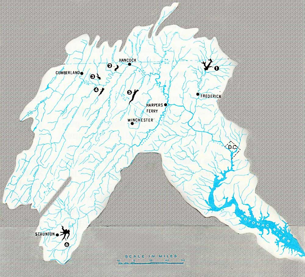 Sources Of Northern Virginia Drinking Water - Map Of Us Dams Washington Post