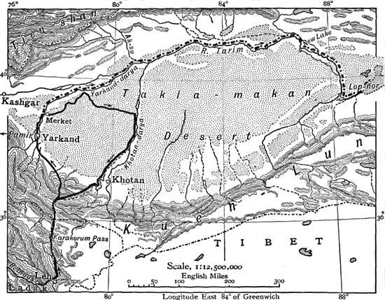 The project gutenberg ebook of from pole to pole by sven anders hedin has no drainage to the sea while the large quantity which runs off between your fingers represents the large rivers which flow between the ranges fandeluxe Image collections