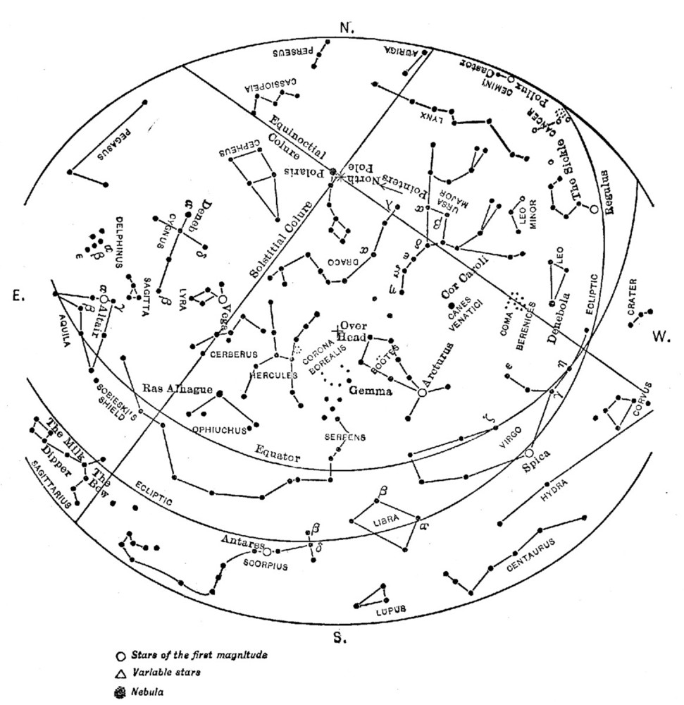 the project gutenberg ebook of a field book of the stars