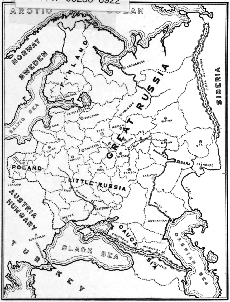 The project gutenberg ebook of a survey of russian literature with map of russia linked to a larger version of the same fandeluxe Choice Image
