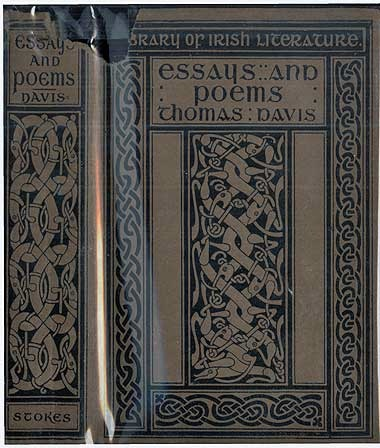 The project gutenberg ebook of thomas davis selections from his book cover fandeluxe Image collections